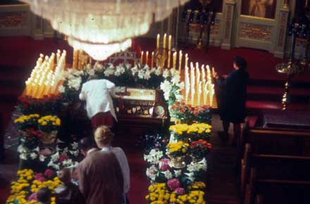 St. Theodosius, Good Friday 1978