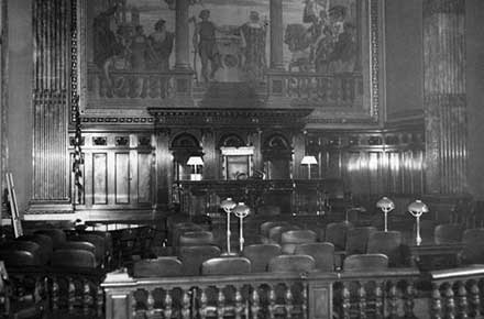 The Federal Courtroom, 1956