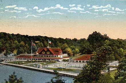 Cleveland Yacht Club, Lakewood, Ohio.