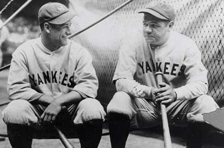 Lou Gehrig & Babe Ruth, 1927