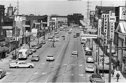 Downtown Lorain, Ohio, 1964