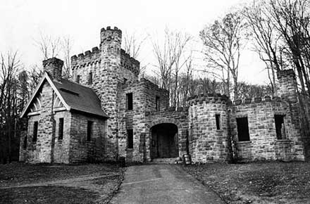 Squire's Castle in the North Chagrin Reservation