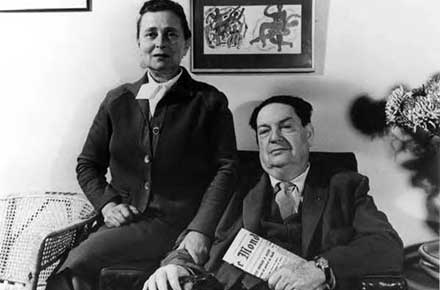 Darius and Madeleine Milhaud