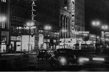 Playhouse Square in ca. 1955