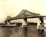 Thumbnail of the South Shore Bridge, Highway-Cantilever Type, Montreal