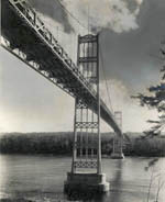Thumbnail of the Suspension Bridge over Penobsot River, view 2