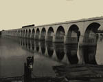 Thumbnail of the Railway Bridge over Susquehanna River, Harrisburg, Penn.