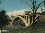 Thumbnail of the Three Hunged arch over Vermillion River, Wakeman, OH