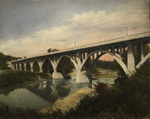 Thumbnail of the Bridge over Chagrin River, Willoughby, OH, view 2
