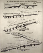 Thumbnail of the Five Bridges designed by State Highway Department