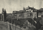Thumbnail of the Alcantara and Alcazar Bridge, Toledo, view 2