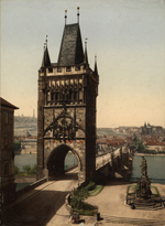 Thumbnail of the Prague - Karlsbrucke, view 2