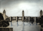 Thumbnail of the Valentre Bridge over Lot, Cahors, France, view 2