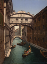 Thumbnail of the Ponte Di Sospire, Venice, Italy