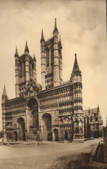 Thumbnail of the Lincoln Cathedral, West Front